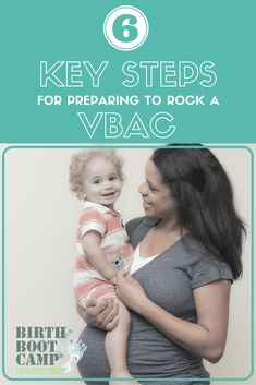 Getting ready and need six steps for planning a vbac? Here are our favorite tips. Vaginal birth after cesarean can be amazing!
