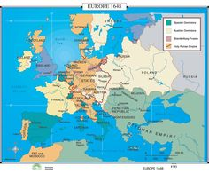 History maps europe in 1900 vintage maps pinterest history world history wall maps europe 1648 gumiabroncs Choice Image