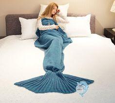 Mermaid blankets make a neat gift! My daughter loves hers~~~>https://goo.gl/rMo8xK