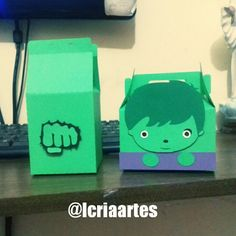 Caixa Incrível Hulk