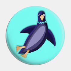 PENGUIN 1 - Penguin - Pin | TeePublic
