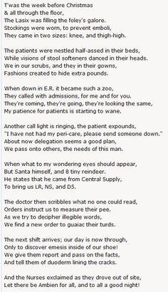 A Nurse's Christmas Poem