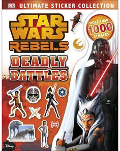 070f0c0679294 Star Wars Rebels Ultimate Sticker Collection Deadly Battles