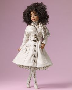 "fuckyeahdollsofcolor:  Lizette by Tonner Dolls, modeling the upcoming ""Perfectly Poised"" outfit. [photo source: X]"