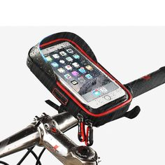 Bicycle Top Tube Phone Bag Touch Screen 6.0 Inch | Freestylecycling.com