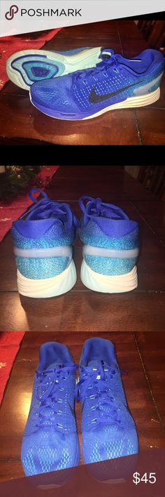 Men's Nike LunarGlide 7's Running Shoes Men's Nike LunarGlide 7's - Running Shoes.  Barely Worn - Like New!  Smooth and Light - with plush Lunarlon foam for a cushy experience! Nike Shoes Sneakers