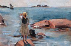 Venny Soldan-Brofeldt – Girl on the Rock