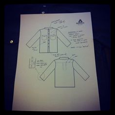Our Pilsley shirt spec sheet. #coming_soon