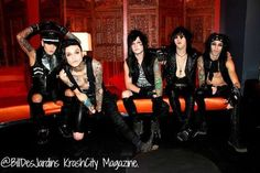 """ashley- sassy andy- attractive as ever jake- """"sup"""" jinxx- DERP!!! CC- """"hi! my name is CC!"""""""