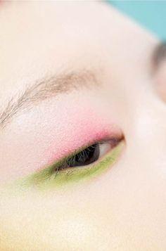 Pin by heavenly papaya on heavenly makeup in 2019 Eye Makeup, Asian Makeup, Body Makeup, Makeup Art, Beauty Makeup, Hair Makeup, Pastel Makeup, Colorful Makeup, Magical Makeup