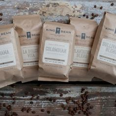 Charleston Blends from King Bean Coffee Host Gifts, Great Coffee, Coffee Beans, Charleston