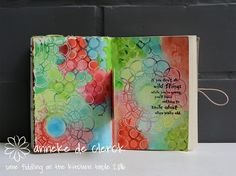 Some fiddling on the kitchen table: Inspiration Wednesday 2016 #10
