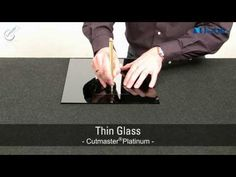 How to cut a glass circle - YouTube