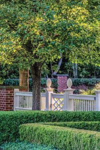 Lawn and Garden Tools Basics Gates And Fences By Gregory Lombardi Design Fence Landscaping, Backyard Fences, Garden Fencing, Modern Landscaping, Landscaping Software, Fence Design, Garden Design, Front Yard Fence, Low Fence