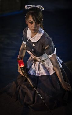 Little Sister (Bioshock) cosplay by Monika Lee | Otakon 2011