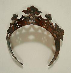 Tortoise shell tiara