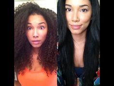 How To Straighten Curly Hair! - YouTube...so I could definitely go natural and do this once in a while...hmmm