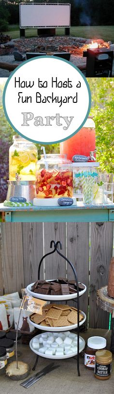 Need some backyard party inspiration? These creative ideas will make for a time to remember! Fun Backyard, Backyard Bonfire Party, Bonfire Parties, Backyard Party Games, Backyard Birthday, Birthday Bbq, Bonfire Birthday, Wedding Backyard, Summer Parties