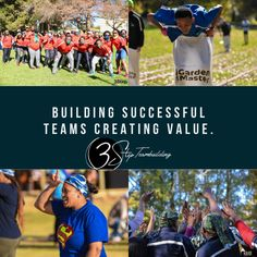 A day where teams compete for corporate gold in the company based competition. Team Building Program, Corporate Team Building, Team Building Activities, Giant Slip And Slide, Outdoor Activities, Fun Activities, New March, Creative Skills, Teamwork
