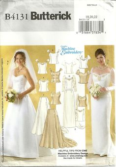 1000 Images About Wedding Sewing Patterns On Pinterest Sewing Patterns We