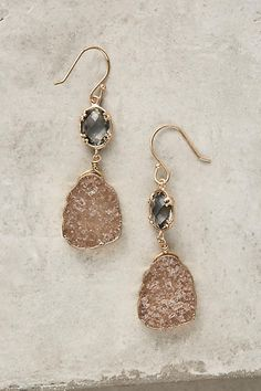 Anthropologie Reflection Drop Earrings (ad)  #AnthroFave