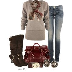 """""""Wedge Boots"""" by christa72 on Polyvore"""