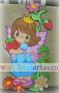 Fomi: Hadita princesa cosechando   Fomiart