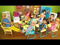 Pool Fun Elsa Anna Toddlers Chelsea Slide Shopkins