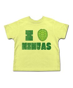 Take a look at this Banana Turtle Shell Tee - Toddler & Kids on zulily today!