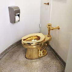 Le Guggenheim a désormais des toilettes en or massif | The Creators Project