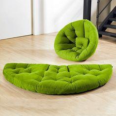 Ideas de regalo. silla nido transforma en cama colchón cómodo