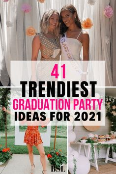 in love with these graduation party ideas!! already sent these to my mom so we can copy them!