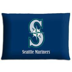 20x30inch 50x76cm bench pillow case Polyester Cotton softer Wrinkle free MLB baseball logo