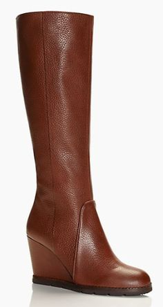 cute Kate Spade wedge boots - 25% off with code: HOLLYJOLLY http://rstyle.me/n/t9hk6pdpe