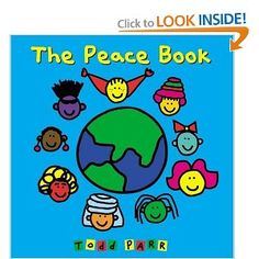 Book, The Peace Book by Todd Parr