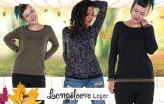 Longsleeve, Winter 2017, Tunic Tops, Shirts, Women, Fashion, Moda, Fashion Styles, Fashion Illustrations