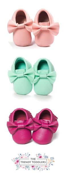 Let your kids walk like a star! SHOP Our Baby Bow Moccasins for Baby & Toddler Girls SALE 45% OFF + FREE SHIPPING!
