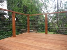 Wire Trellis with Wood Frame – Outdoor Decorations Wire Deck Railing, Deck Railing Design, Wire Fence, Railing Ideas, Cable Railing, Stainless Steel Balustrade, Stainless Steel Wire, Wire Balustrade, Balustrade Design