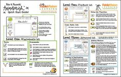 Animation-ish Quick Start Guide! Handy printout to help you animate your lessons. Teaching Art, Teaching Tools, Teacher Resources, Teaching Ideas, Music Classroom, Classroom Ideas, Peter Reynolds, International Dot Day, Art Curriculum