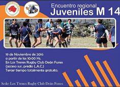 Así Somos: La M14 de Los Trenes Rugby Club Deán Funes jugará ...