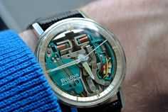 Bulova accutron spaceview 1968. An innovative and incredible feat of engineering