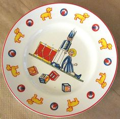 Tiffany Toy's Childs Plate by Tifany Co 1992 Made in Japan Great Condition | eBay