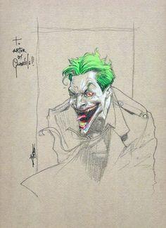 Joker by Gabriele Dell'Otto (Batman) Comic Art