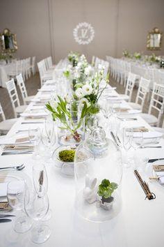 Green White Botanical Wedding Ashanti South Africa