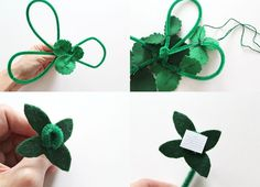 Felt Strawberry DIY- adding it to a pipe cleaner is a good idea, to make it look like a large plant Felt Cupcakes, Felt Play Food, Sewing Projects For Kids, Garden Boxes, Beautiful Mess, Felt Diy, Toddler Gifts, Leaf Shapes, Felt Dolls