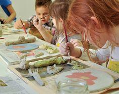Mit viel Spaß und Fantasie beim Kinder-Kreativworkshop im Kunstmuseum Waldviertel in Schrems