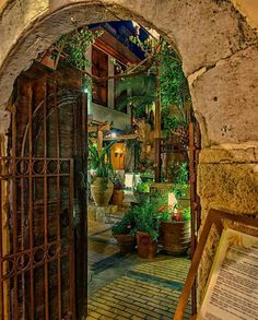 Old town of Rethymno, Crete island, Greece