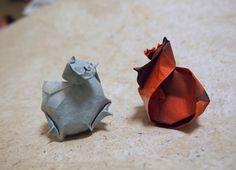 【Origami】 Turban Shell (Designed by Satoshi Kamiya) | by Lonely-Shiba