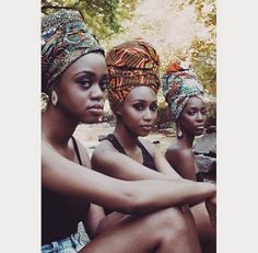 The ultimate squad goals 😍😍😍😍 African Beauty, African Women, African Fashion, African Artwork, Natural Hair Inspiration, Stretched Ears, Brown Girl, African Attire, African American History