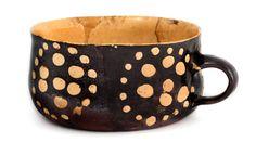 porringer...slipware...17th century